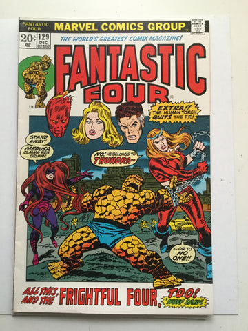 Fantastic Four #129 VF comic book