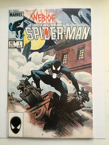 Web of Spider-man #1 high grade comic book