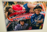Dukes of Hazzard rare triple autograph photo  with COA