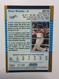 Blue Jays Russell Martin high end numbered rookie card