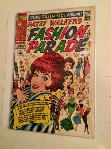 Patsy Walker's Fashion Parade #1 comic book annual 1966