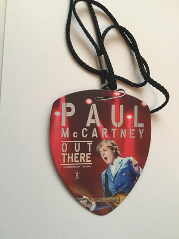 The Beatles Paul McCartney rare concert pass