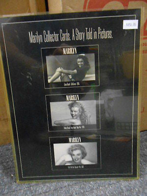Marilyn Monroe rare uncut card sheet 1990s