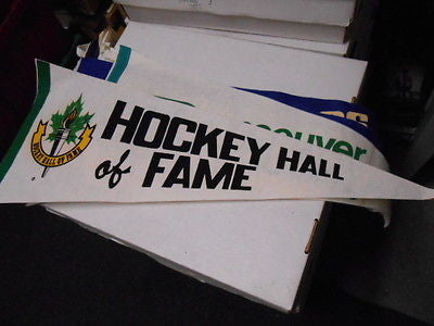 Hockey Hall of Fame rare pennant 1970