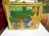 Sesame Street rare metal lunch box 1970s