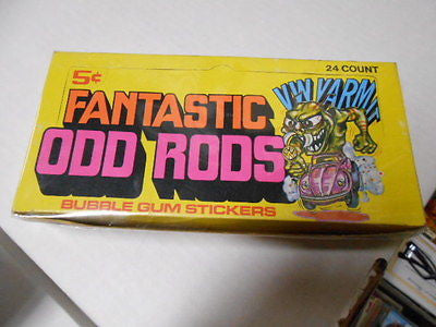 Fastastic Odd Rods empty display box 1960s