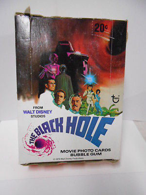 Black Hole movie cards box 1979