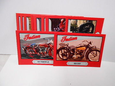 Indian Motorcycle series 1 rare cards set 1990