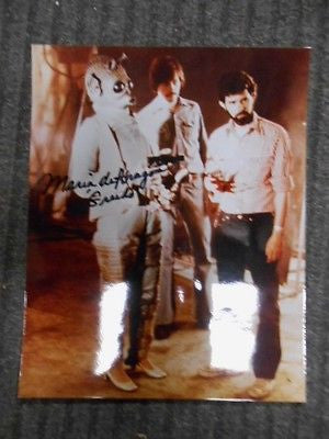 Star Wars Maria D'Aragon ( Greedo) signed in person 8x10 photo w/ COA
