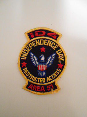 Independence Day rare 3x3 movie patch