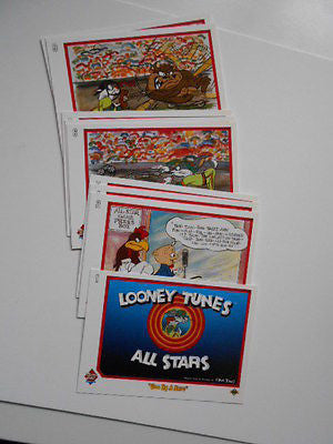 Looney Tunes rare preview cards set 1990