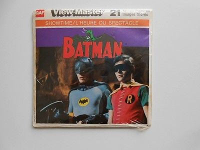 Batman TV show View-Master 1976