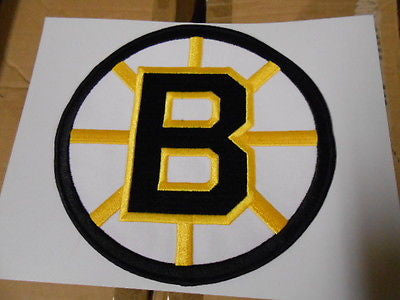 Boston Bruins hockey large front chest pro patch 1990s