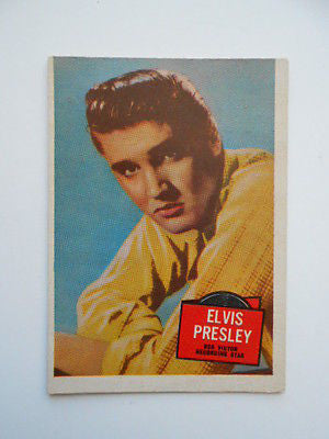 Elvis Hit Stars rare card 1950s
