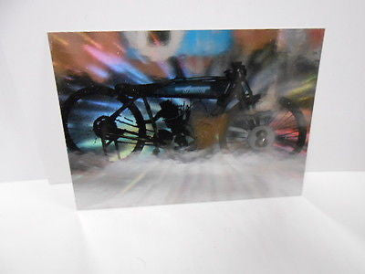 Indian motorcycle Gold stamped Hologram promo 1990
