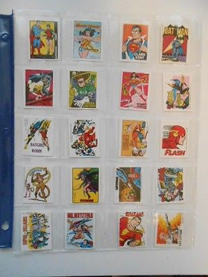 DC Comics Crackerjacks cards set 1979