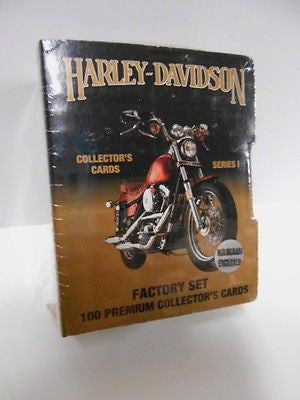 Harley Davidson series 1 sealed factory card set 1990s
