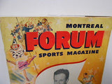 Montreal Forum Hockey rare sports magazine 1948