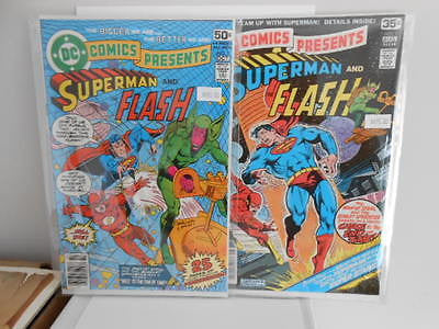 DC Comics Presents #1 and #2 comic books deal