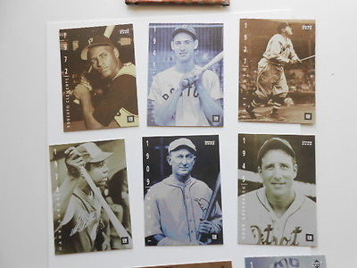 Baseball Legends Upperdeck 9 cards set 1990s