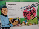 Star Trek Annual original series hard cover comic book 1970s