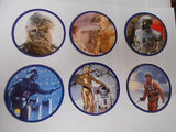 Star Wars Empire York Peanut Butter 6 card set 1981