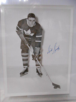 Toronto Maple Leafs Sid Smith signed Turofsky 7x9 photo w/ COA 1940s