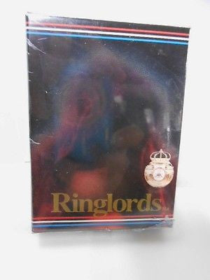 Boxing Ringlords boxing legends card set 1990s