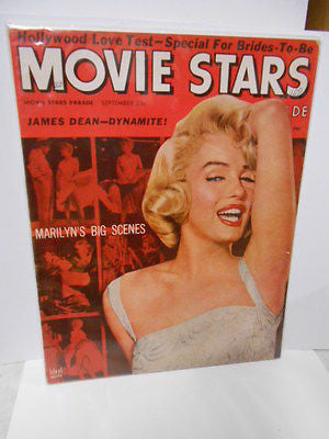 Marilyn Munroe rare Movie Stars magazine 1950s