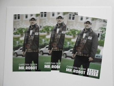 Mr. Robot TV show rare 3 preview 4x6 cards