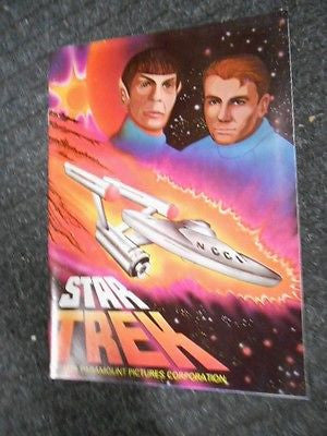 Star Trek rare vintage stickers album 1970s ( only issued in Canada)
