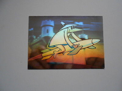 Mad magazines Spy vs Spy rare hologram insert card 1990s