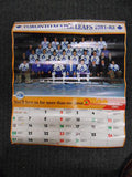 Toronto Maple Leafs Toronto Dominion hockey Calendar 1981-82