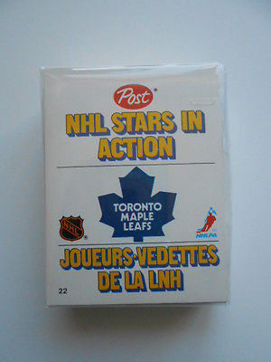 NHL Post cereal limited issued pop-up cards set 1981