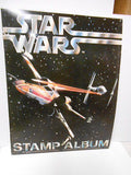 Star Wars rare original stamp album 1977