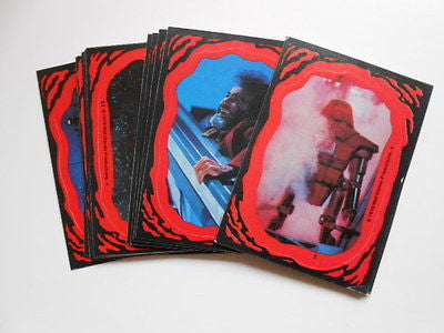 Black Hole Movie stickers set 1979