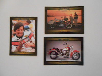Harley Davidson series1 preview cards set 1990s