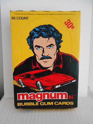 Magnum PI TV show rare full unopened box 1983