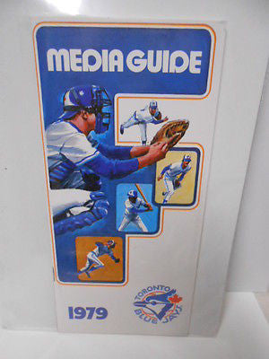 Toronto Blue Jays rare Media Guide 1979