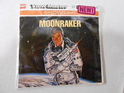 James Bond Moonraker movie View Master vintage disc set 1979