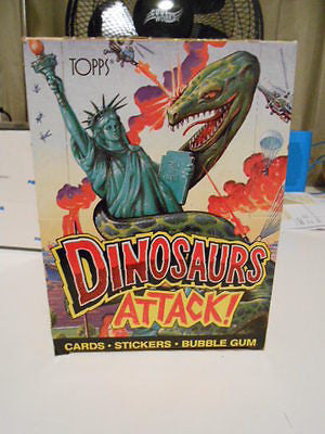 Dinosaurs Attack cards full box 1988