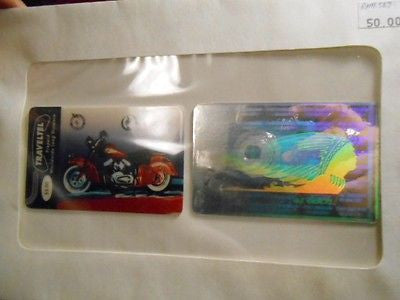 Indian Motorcyle hologram phonecards set 1990