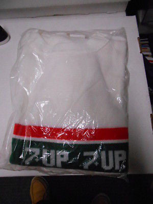 7-Up promotional large size sweater 1970s