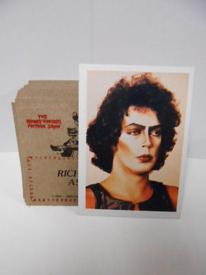 Rocky Horror movie cards set 1978