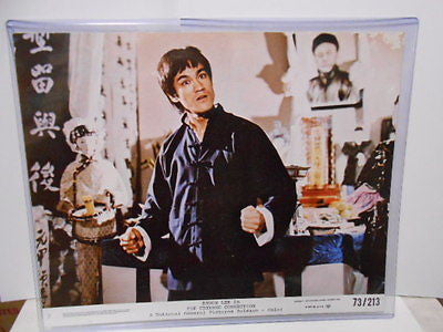 Bruce Lee The Chinese Connection movie lobby card 1970s