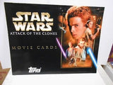 Star Wars Attack of the Clones cards rare ad brochure 1990s