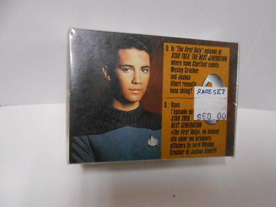 Star Trek (Only in Canada) issued cereal card set 1990s