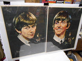 Beatles very rare original 4 large posters set from 1960s