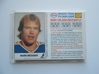 Esso Gas NHL hockey regional issued complete card set 1981