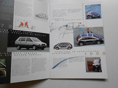 Ferrari Giugiaro car rare limited issued brochure booklet